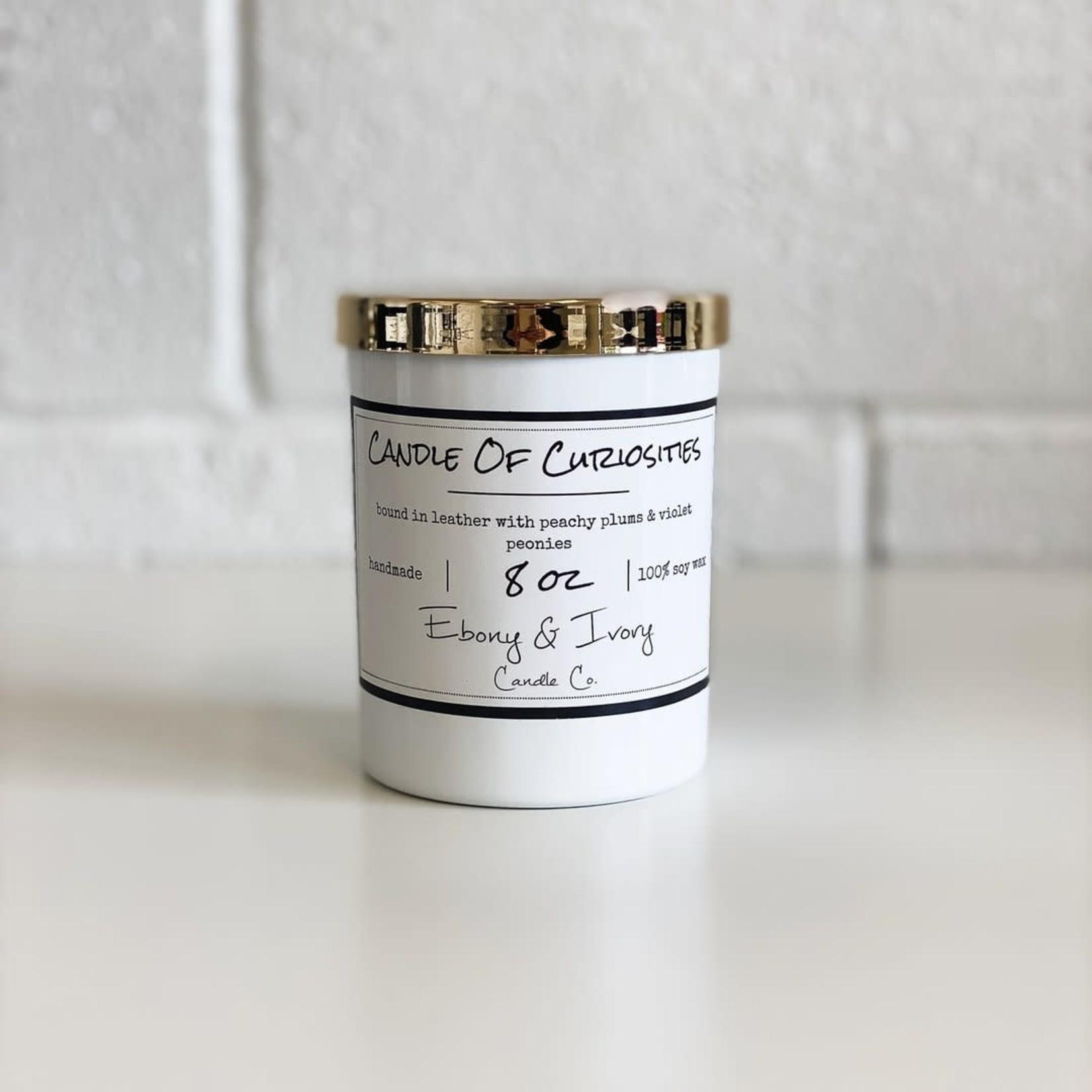 Ebony & Ivory Candle - Candle Of Curiosity