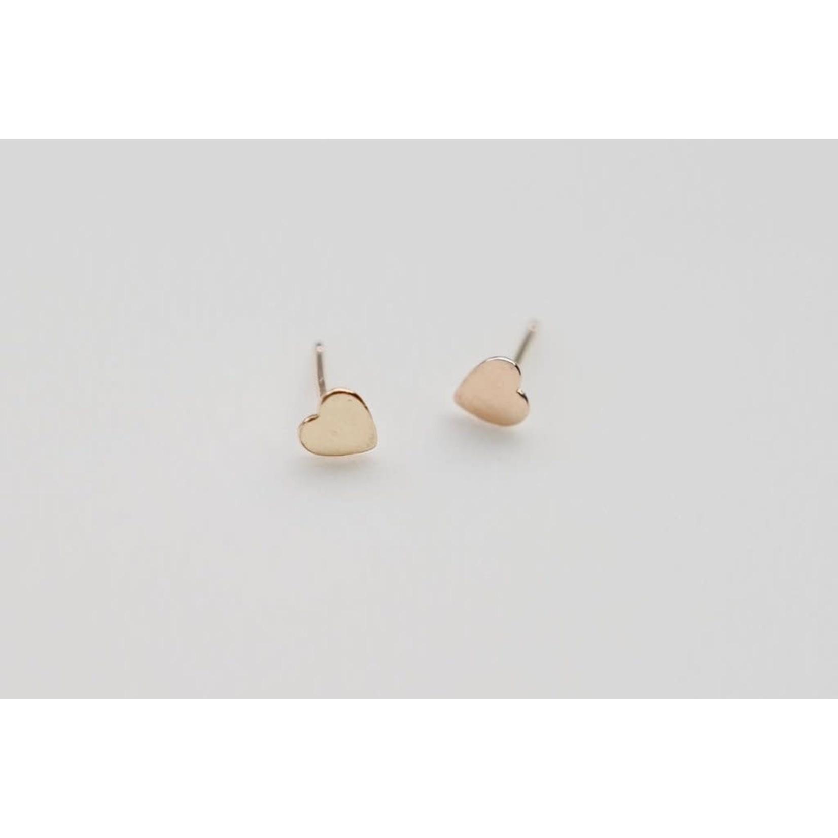 Heart Stud Earrings