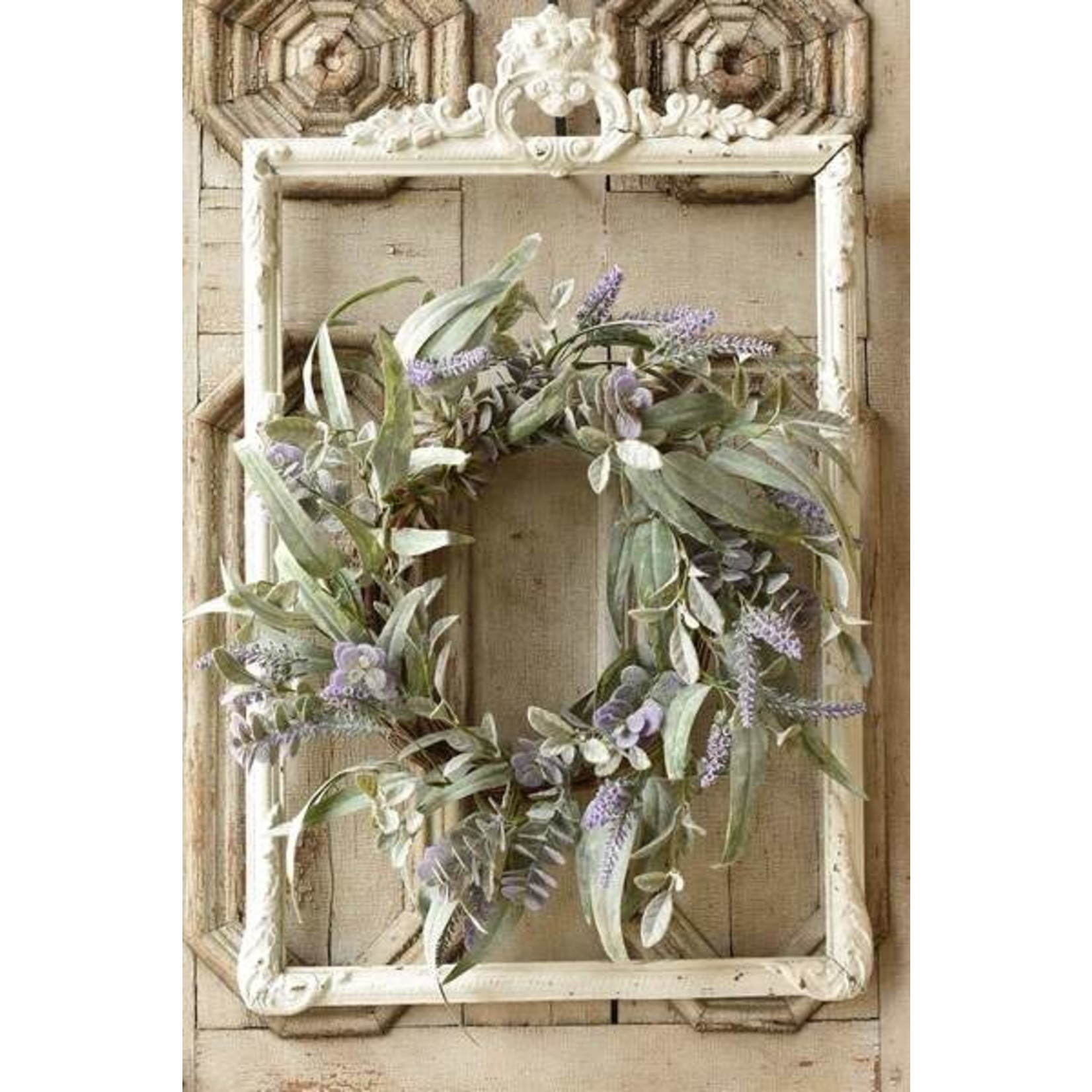 Lifting Lilac Wreath