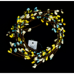 Yellow/Blue Candle Ring