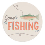 Gone Fishing Coasters