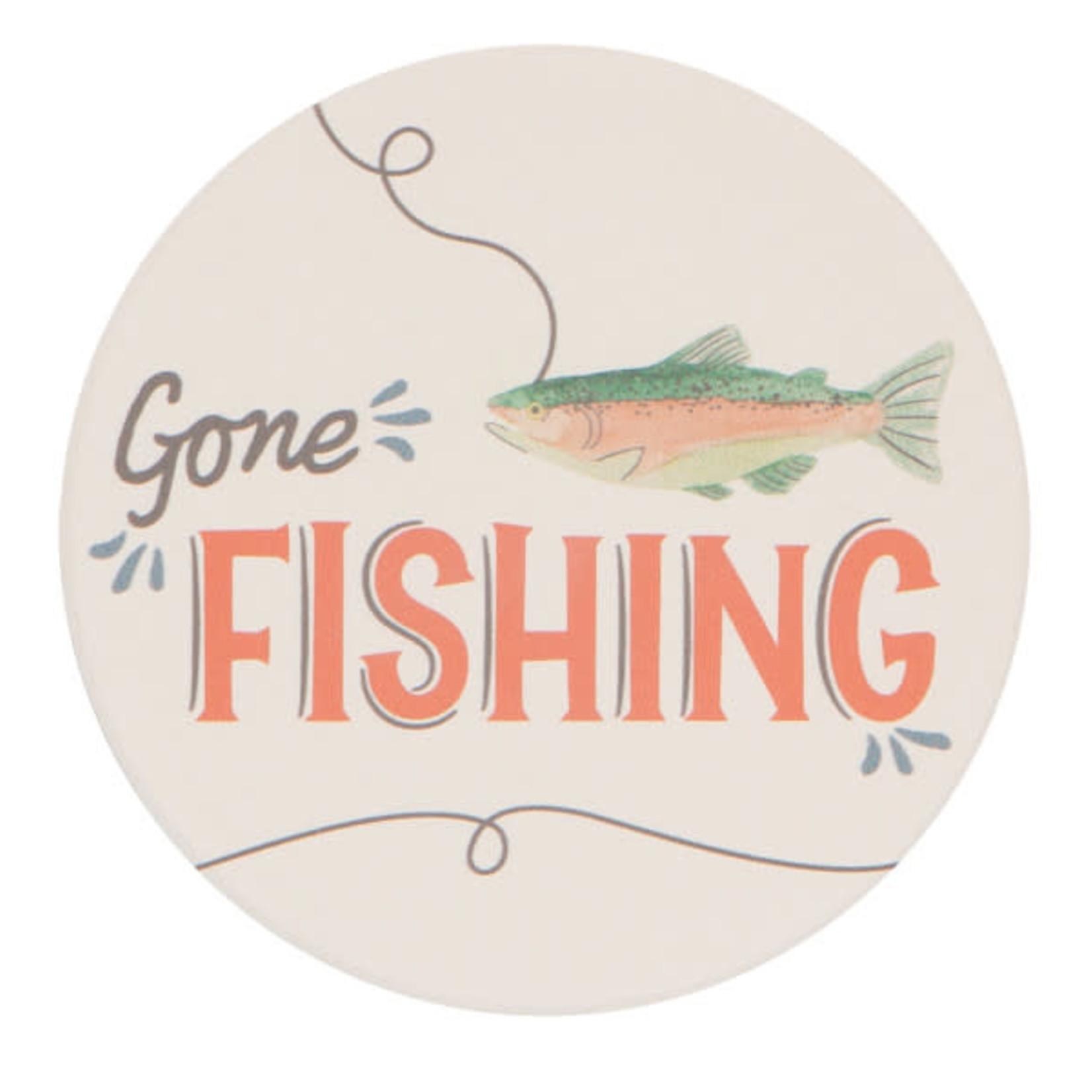 Gone Fishing Coasters