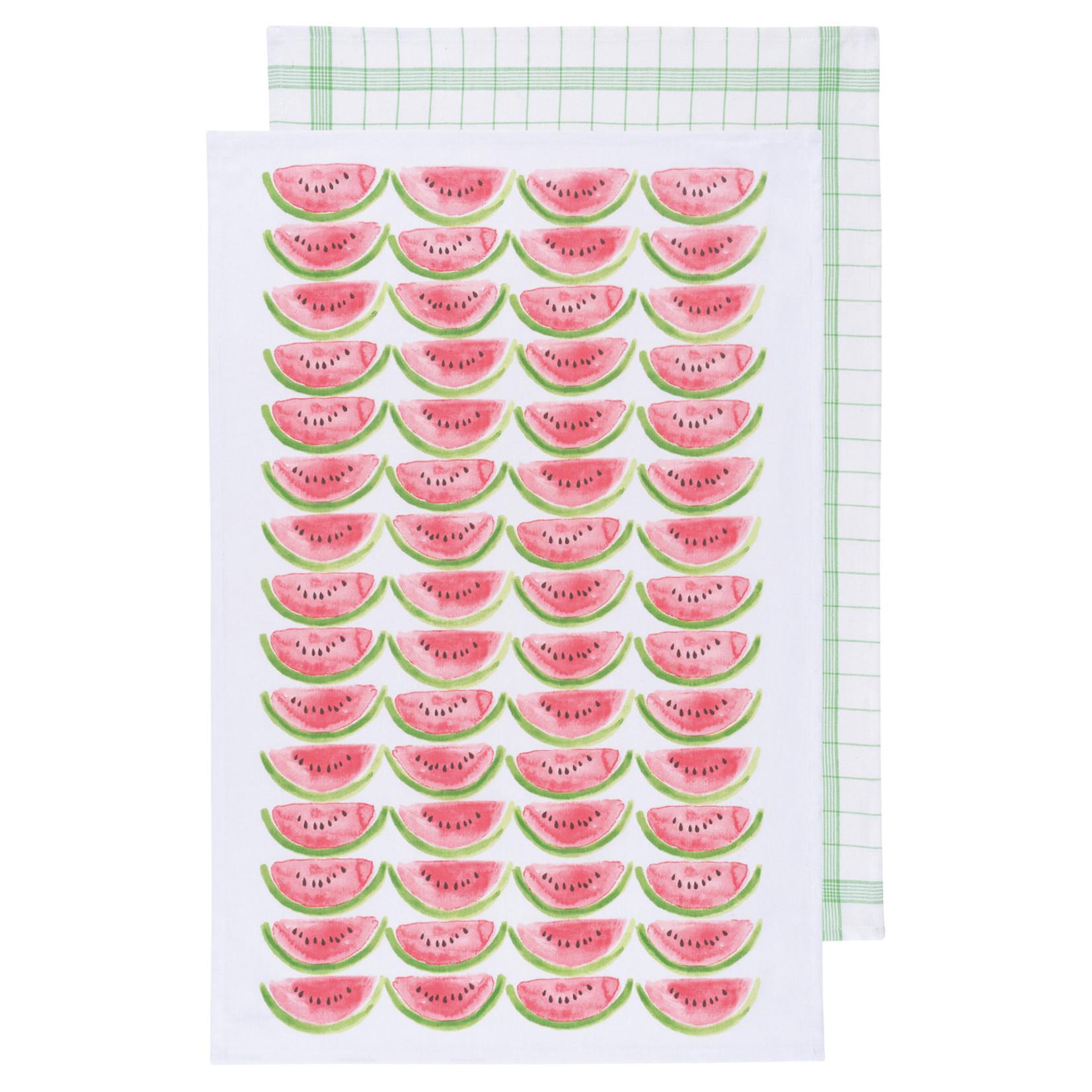 Watermelon - Tea Towel - Set Of 2