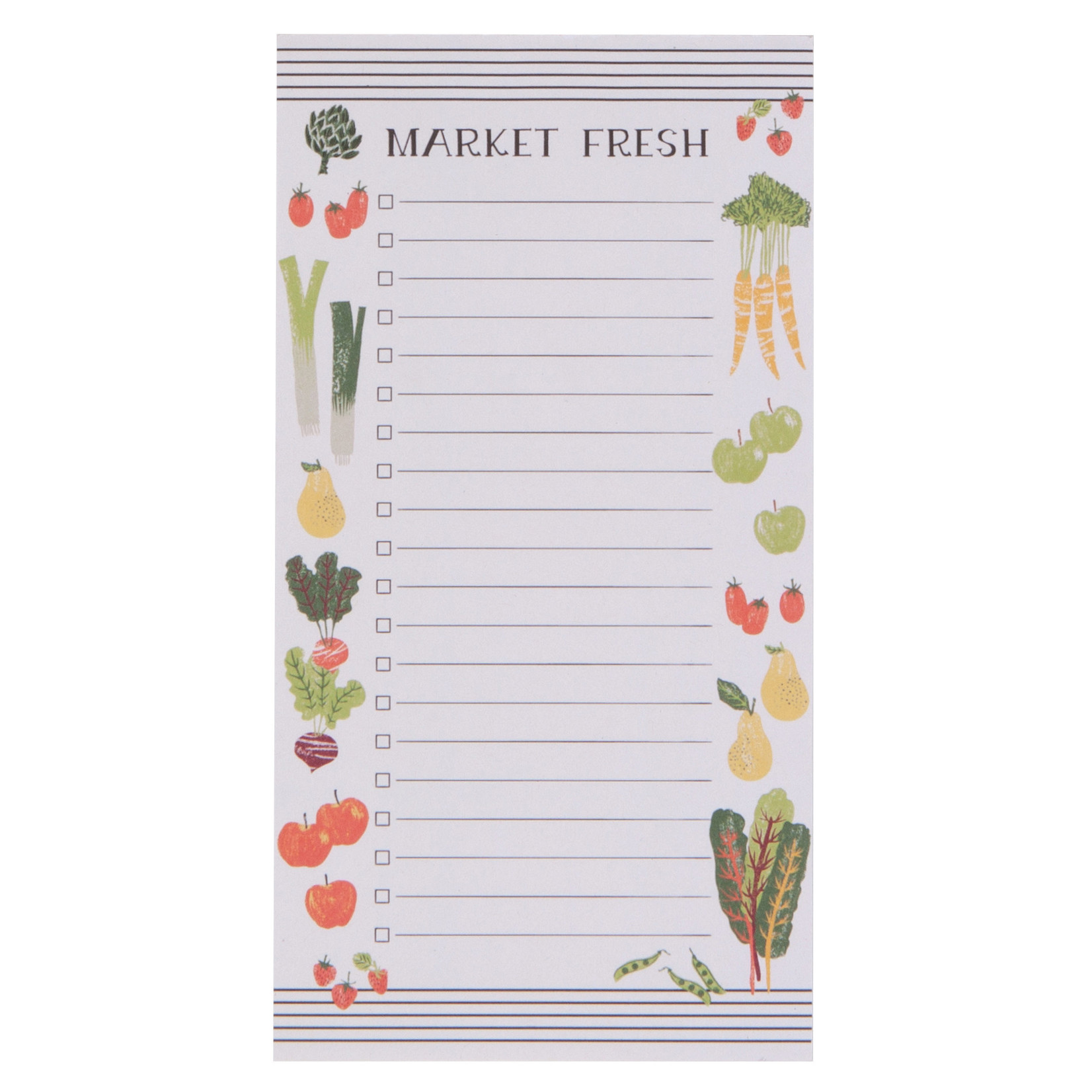 Magnetic Farmers Market - Notepad