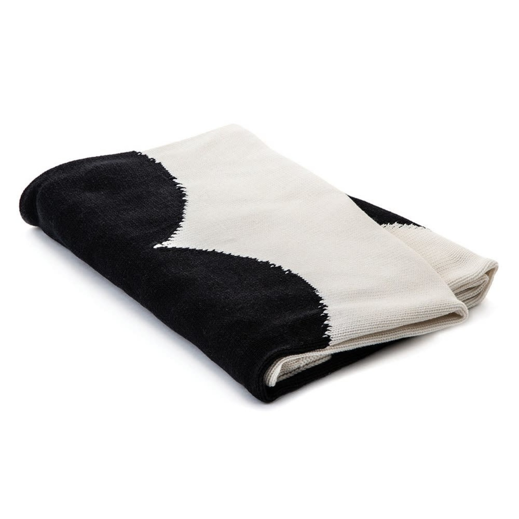 Amoroso Black Heart Blanket
