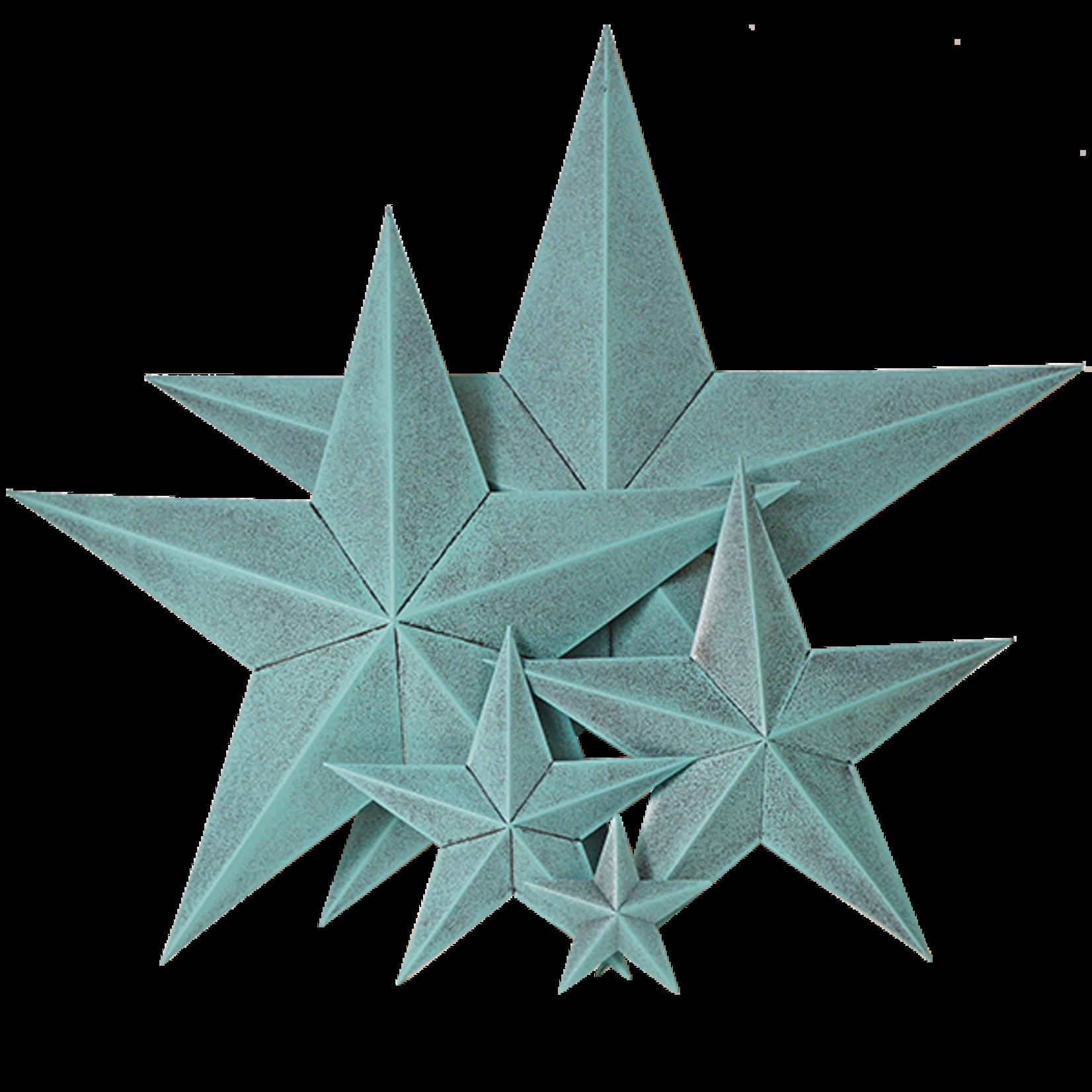 Sponge Blue Metal Star