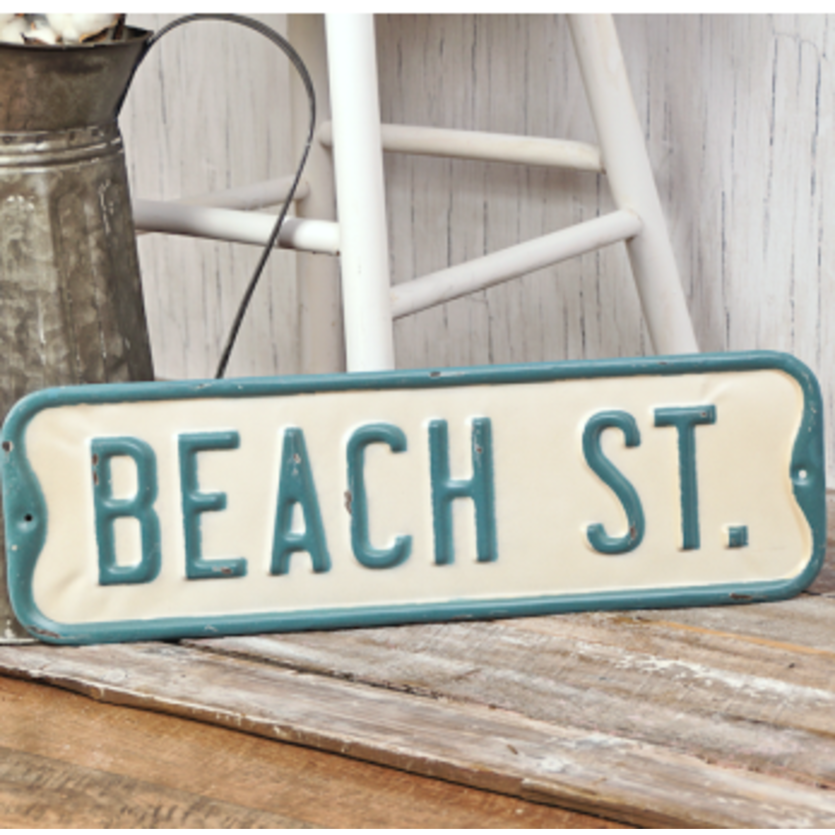 Beach St. Sign