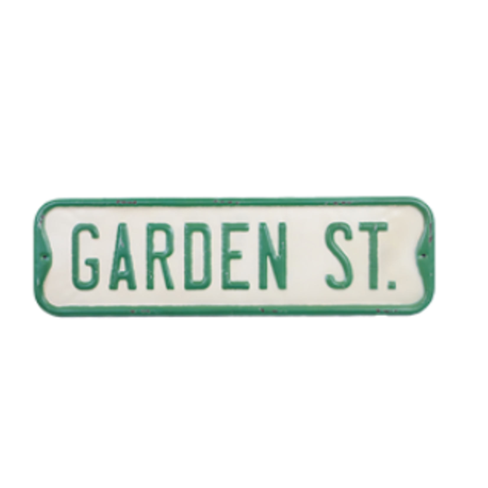 Garden St. Sign