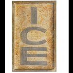 Ice Tin Sign