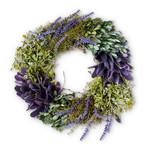 Lavender & Greens Wreath