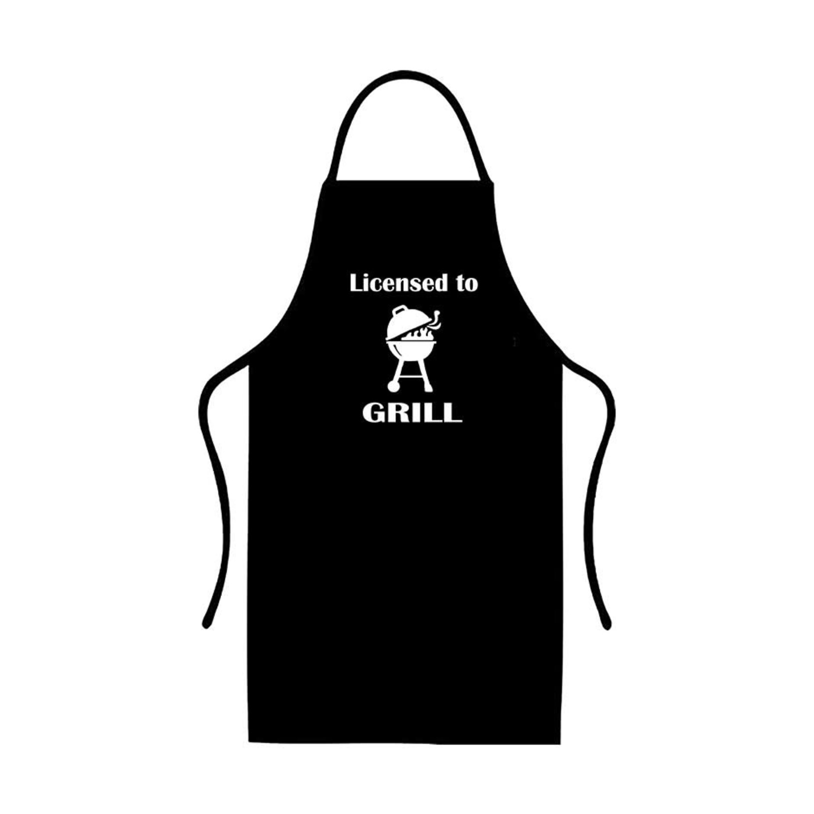 Licensed To Grill - Apron