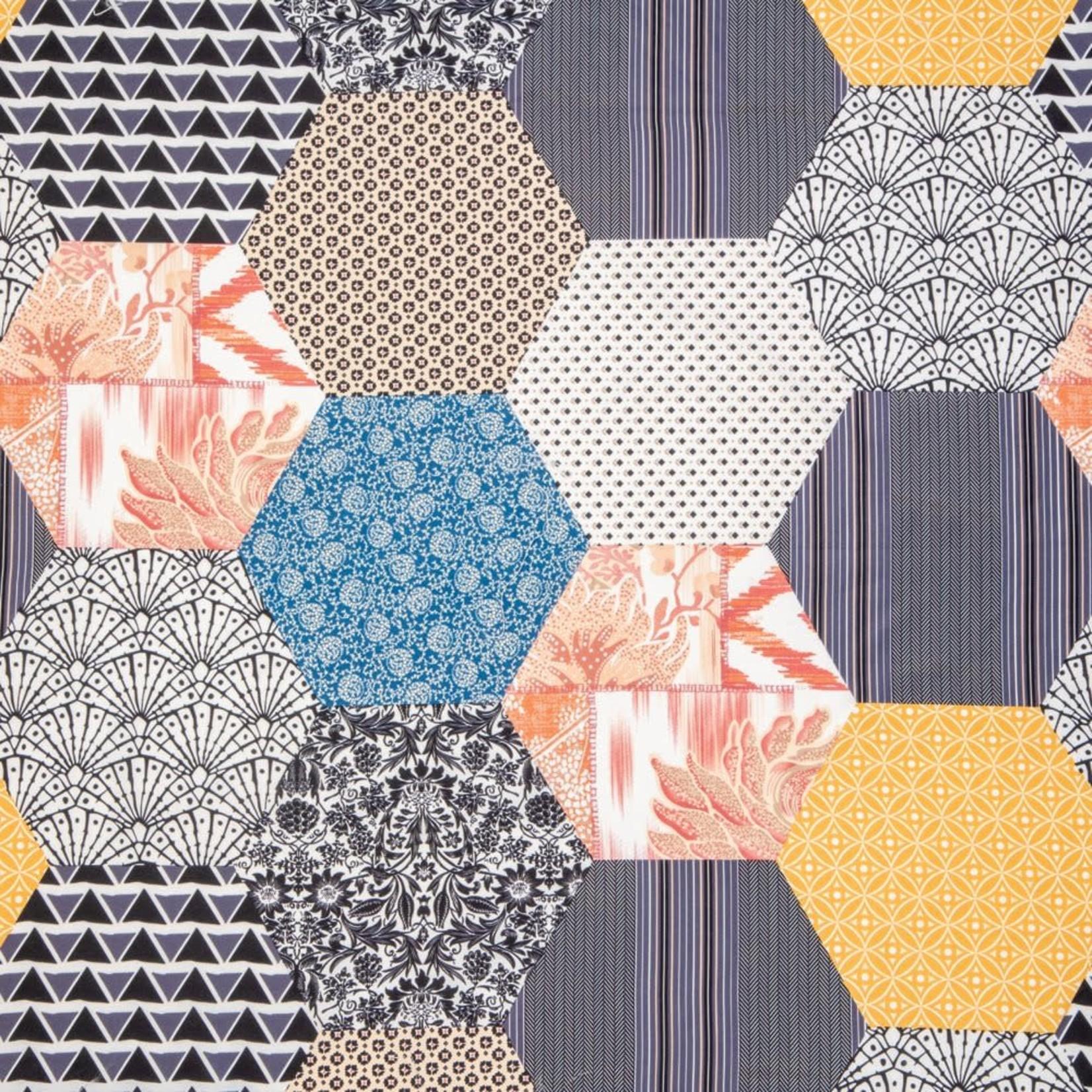 Abee Patchwork Quilt - Double/Queen