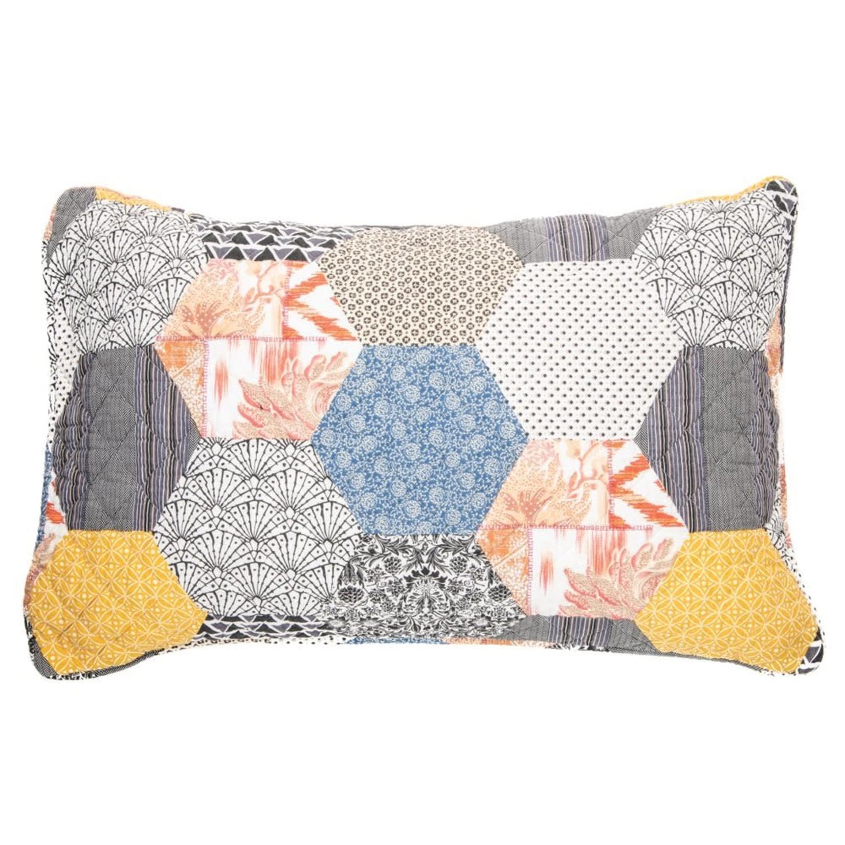 Abee Patchwork Pillow Sham - Set of 2