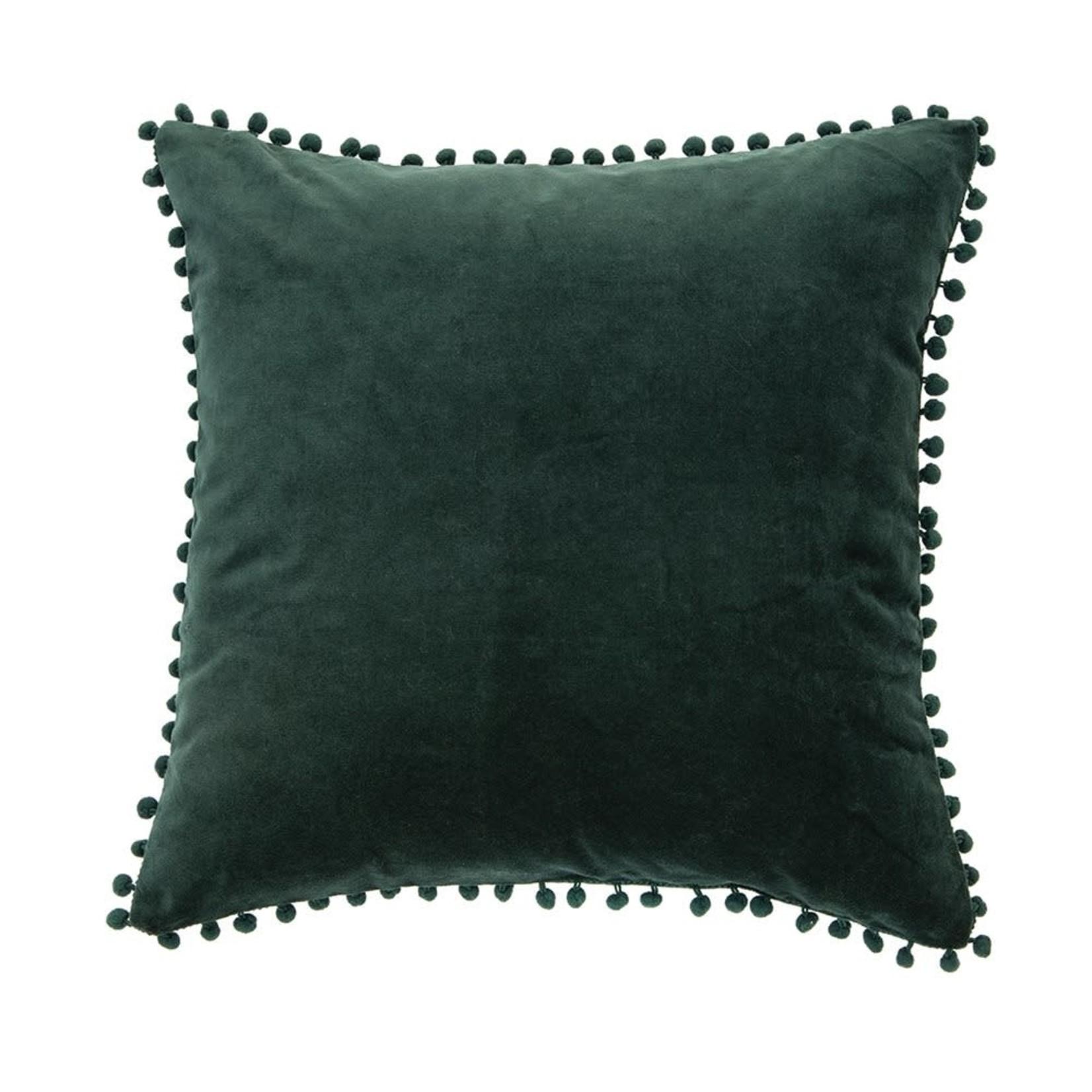 Velvet Dark Green Pillow Cushion