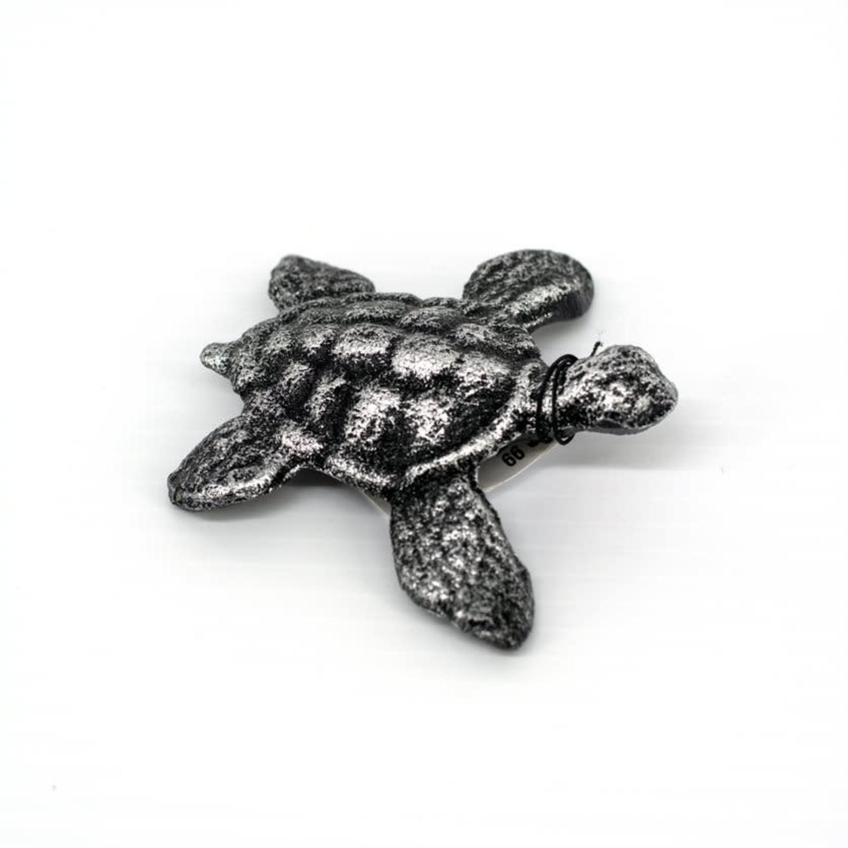 Cast Iron Turtle Figurines