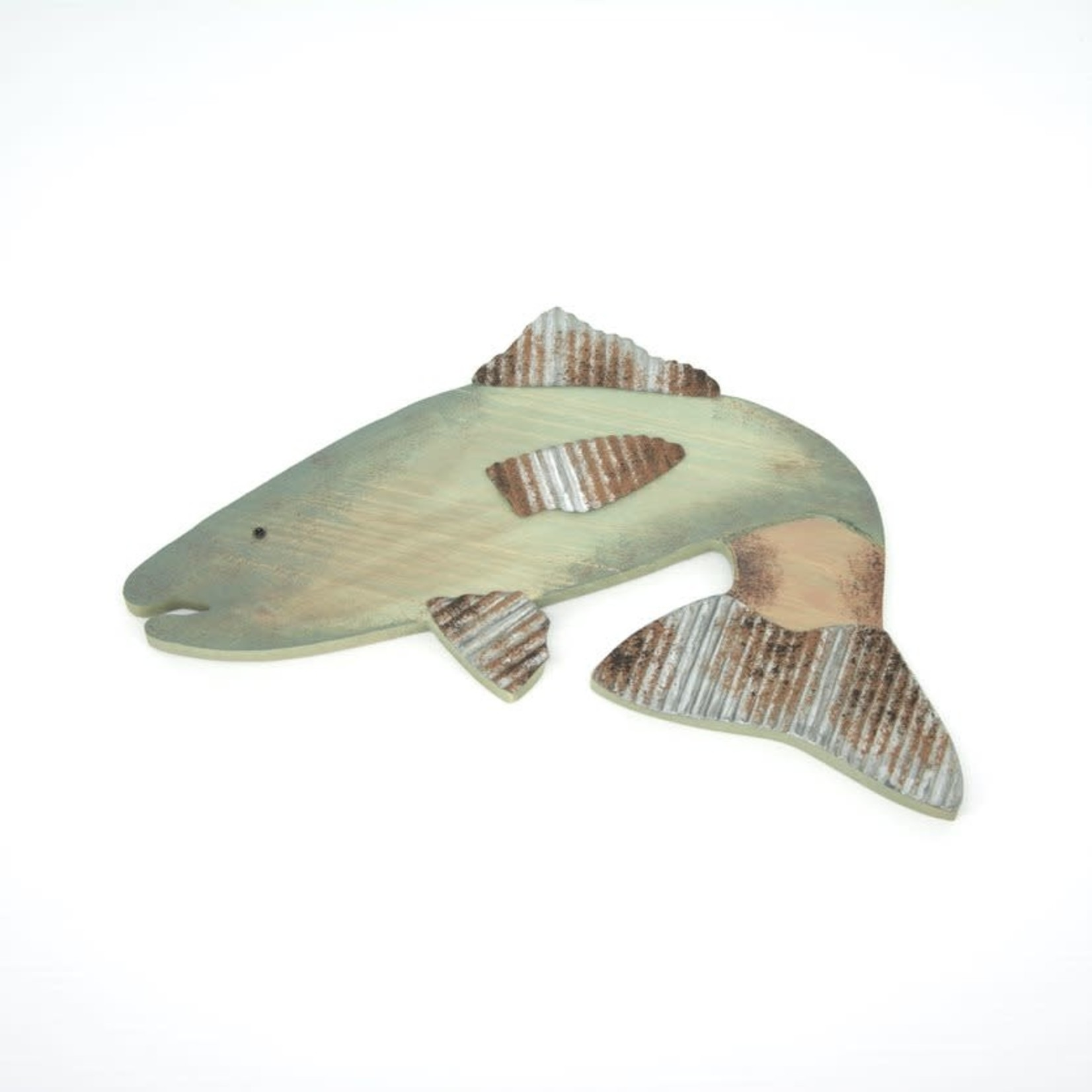 Wood Fish Wall Art