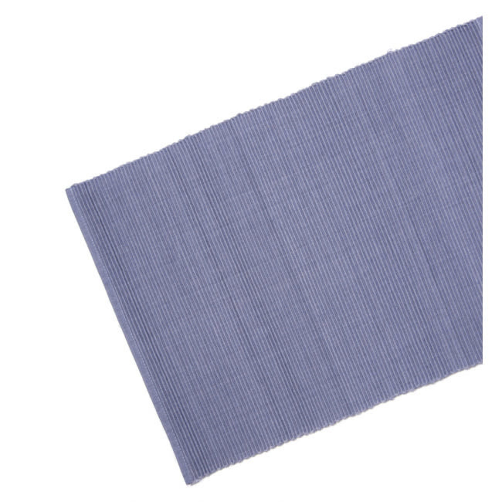 Table Runner Ribbed - Grey