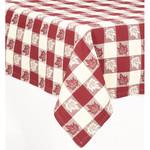 Table Cloth - Leaf Burgundy