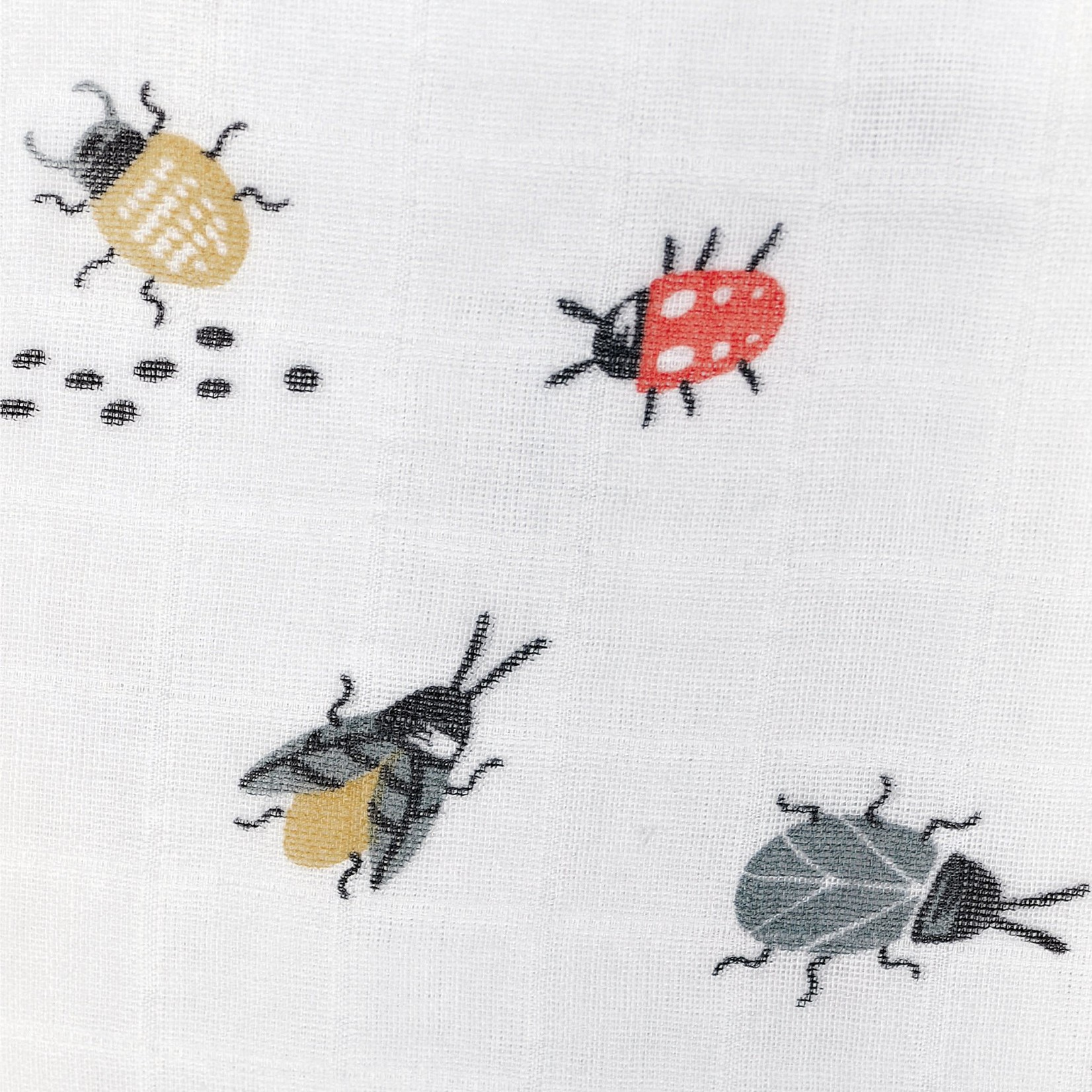 Cotton Muslin Sleep Bag - Insects
