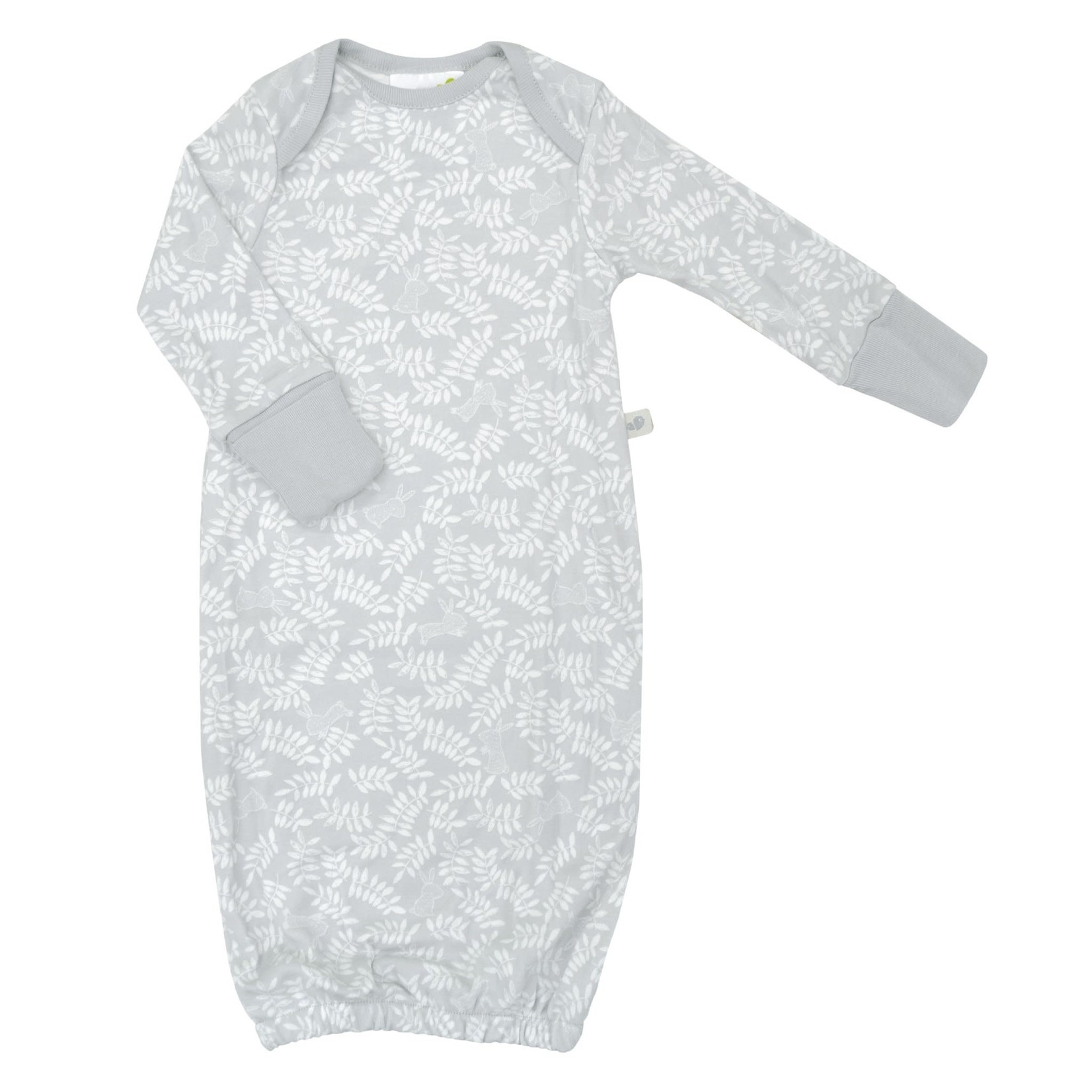 Bamboo Baby Nightgown - Rabbits - Newborn