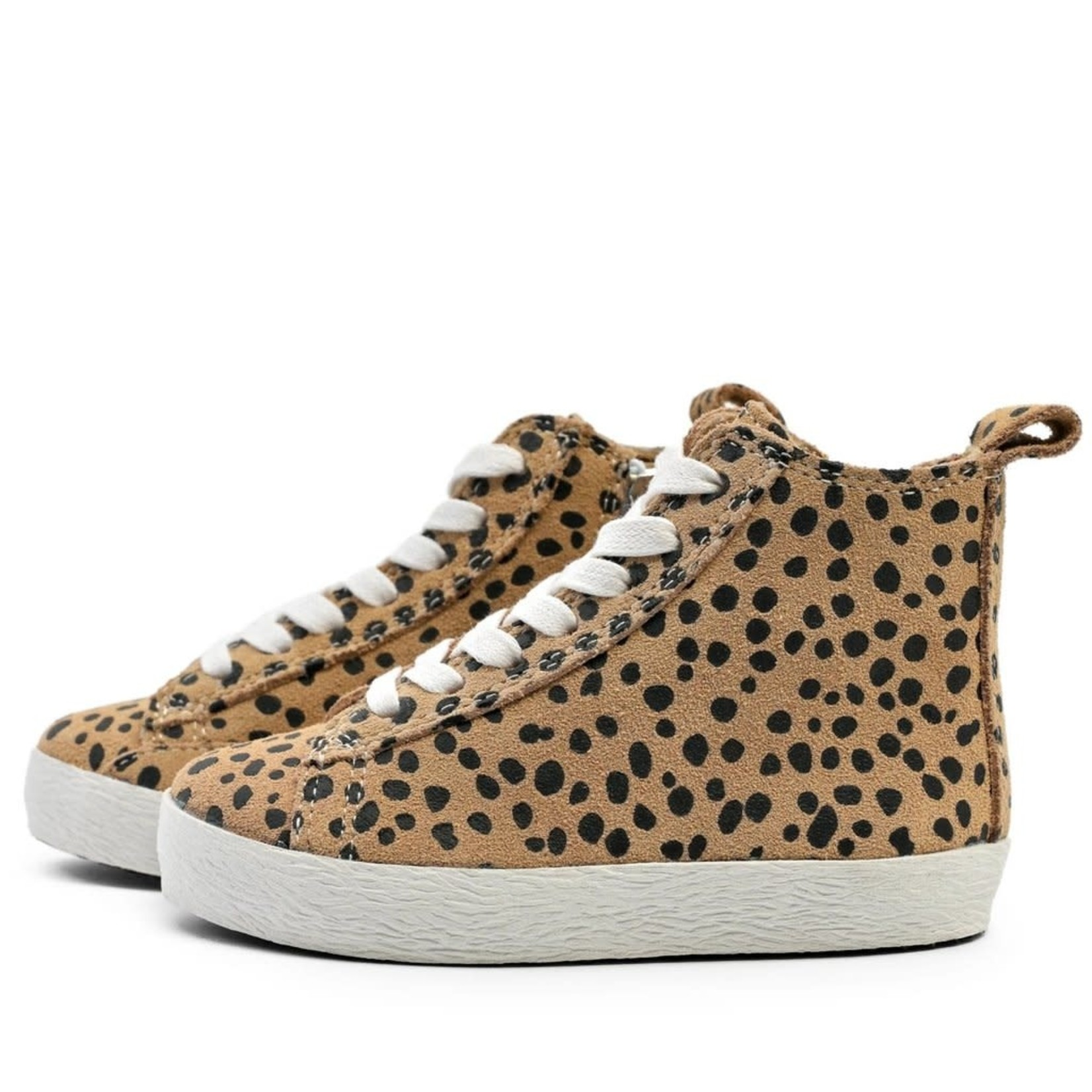 High Top Sneakers - Cheetah