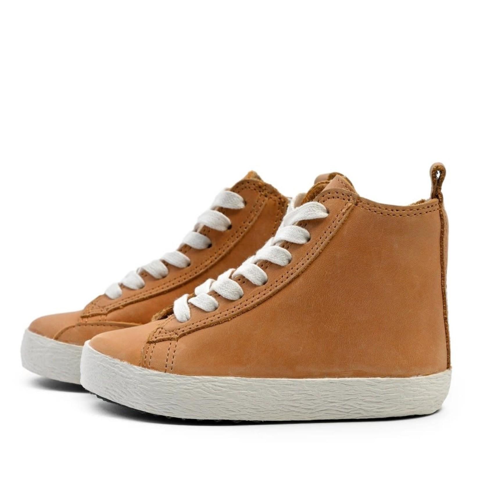 High Top Sneakers - Natural