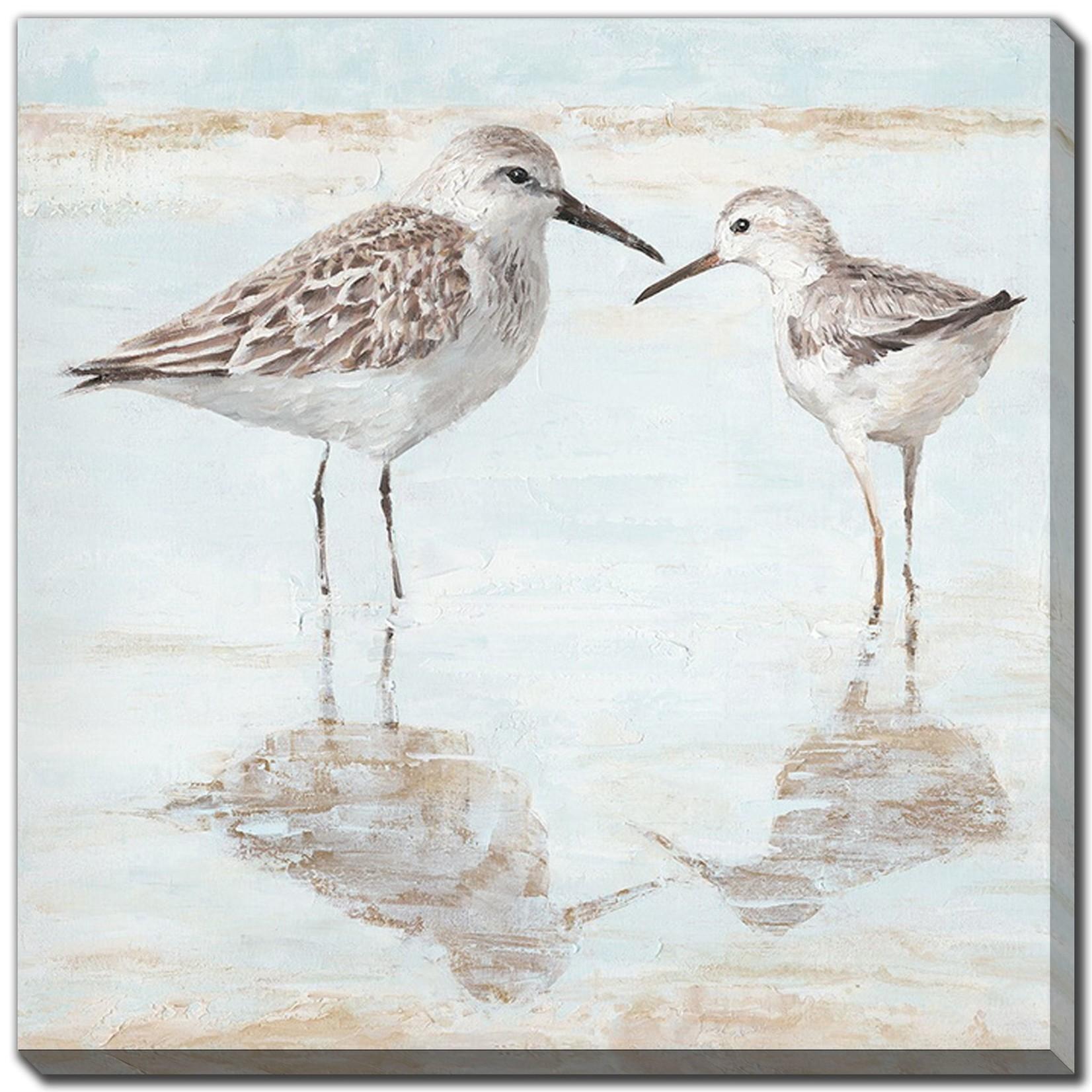 Sandpiper Couple