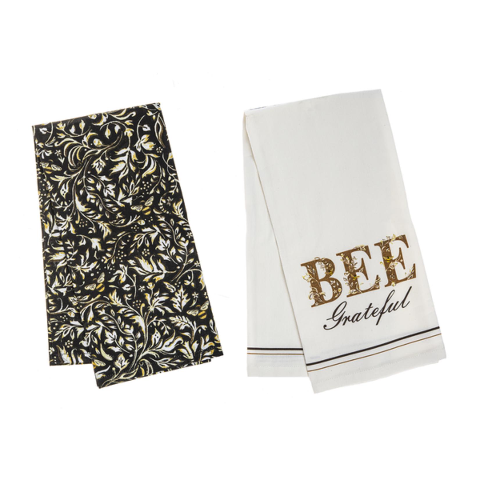 Bee Grateful - Tea Towel