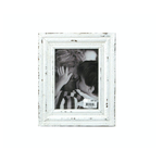 """Distressed White Photo Frame - 5 X 7"""""""