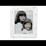 """Distressed White Photo Frame - 8 X 10"""""""