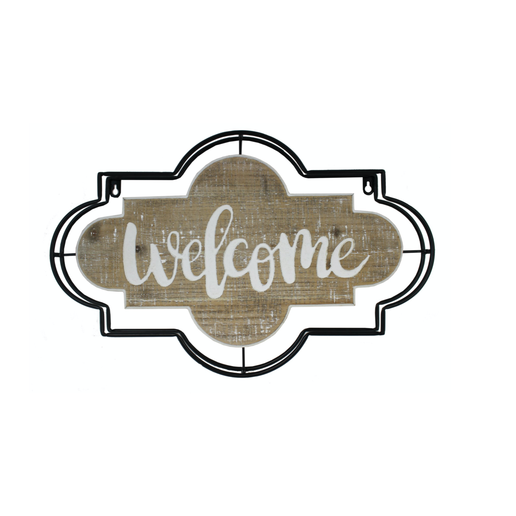 Metal Welcome Wall Sign