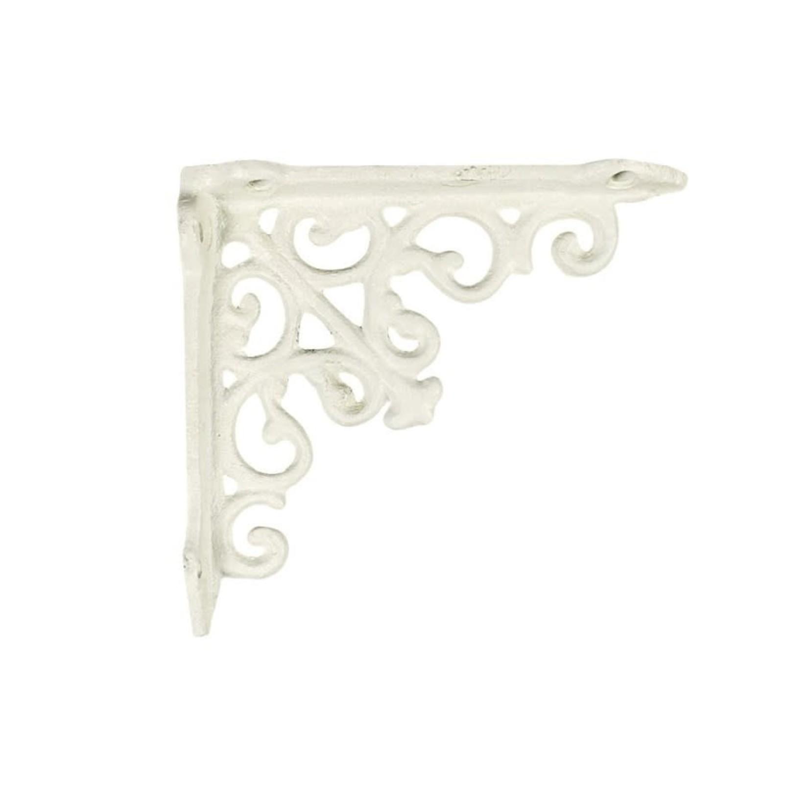 Victoria Shelf Bracket - Small White