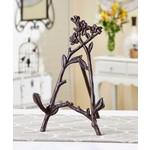 Cast Iron Flower & Vine Book Stand