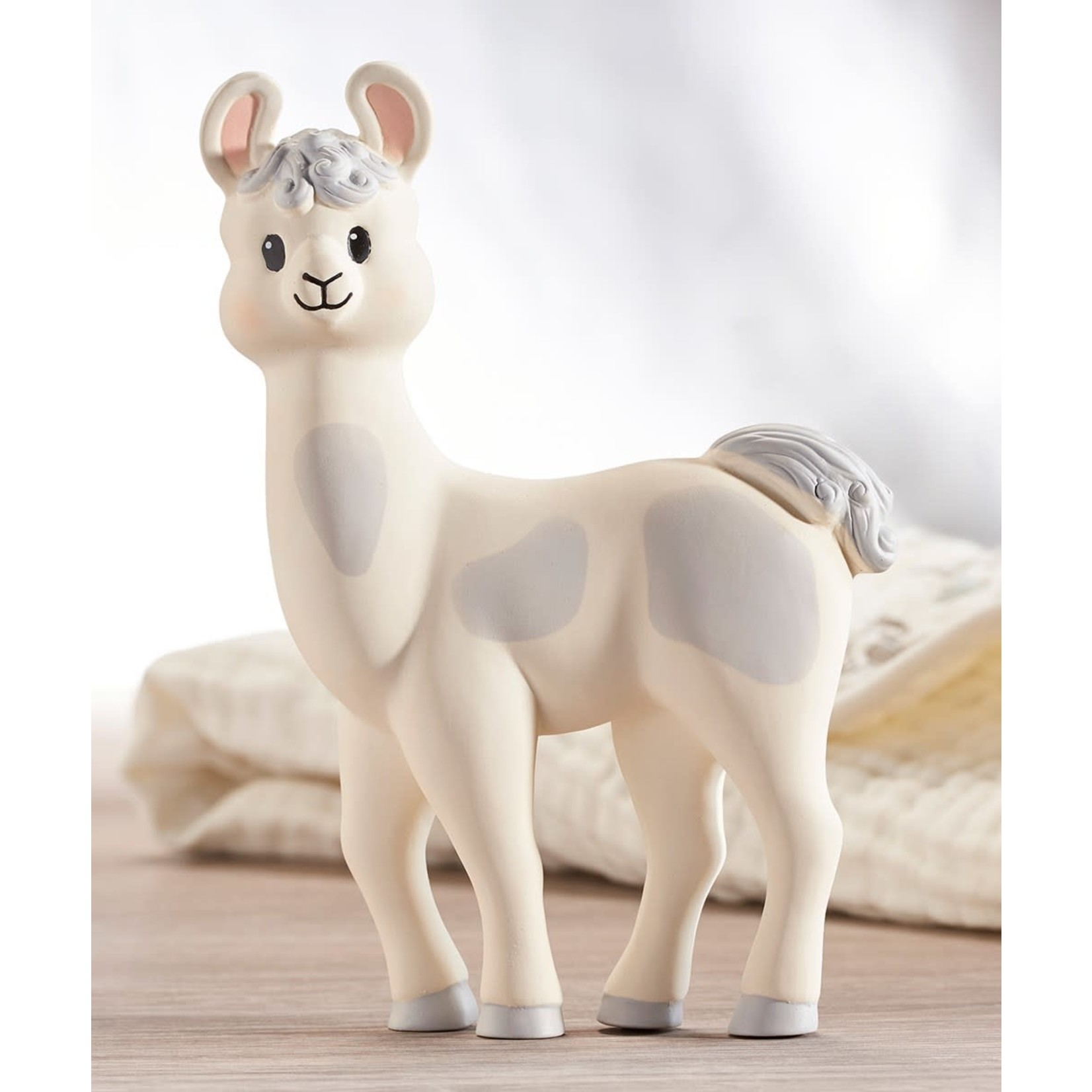 Lil' Llama Teething Toy - Natural Rubber