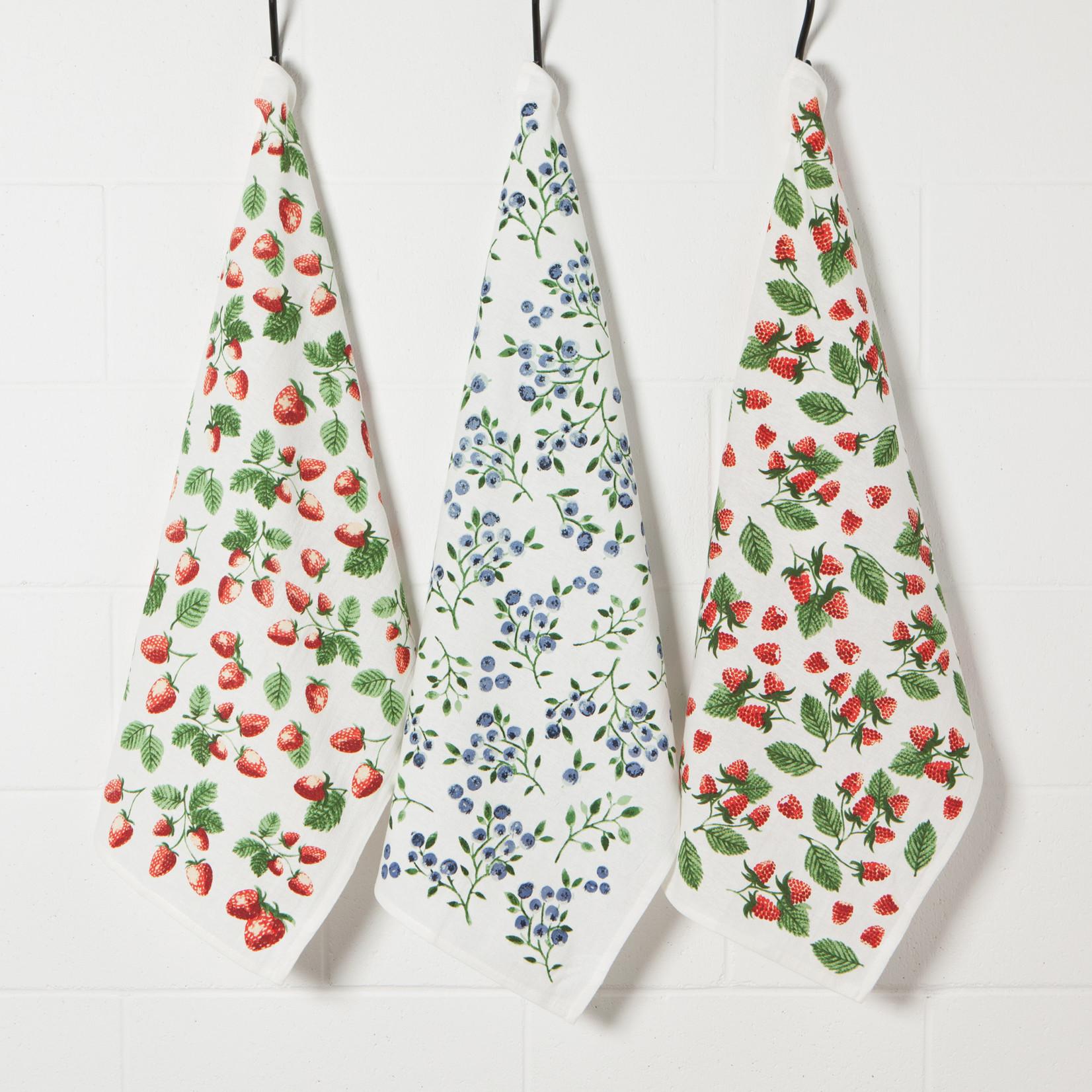 Tea Towel -  Berry Patch - Set/3