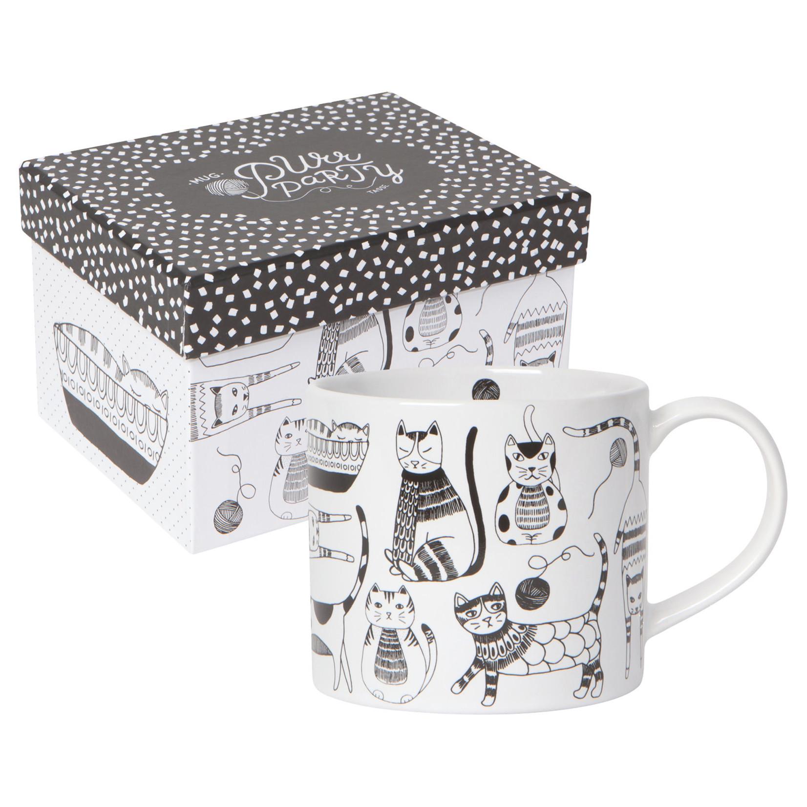Mug in a Box - Purr Party