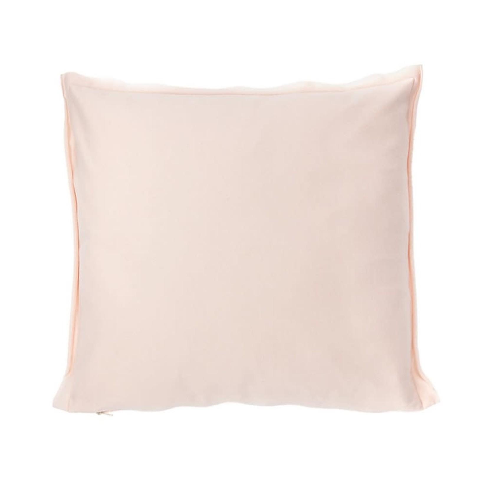 Hoodie Jersey Pink Blush Cushion