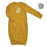 P - Bamboo Nightgown - Mustard Yellow - Newborn