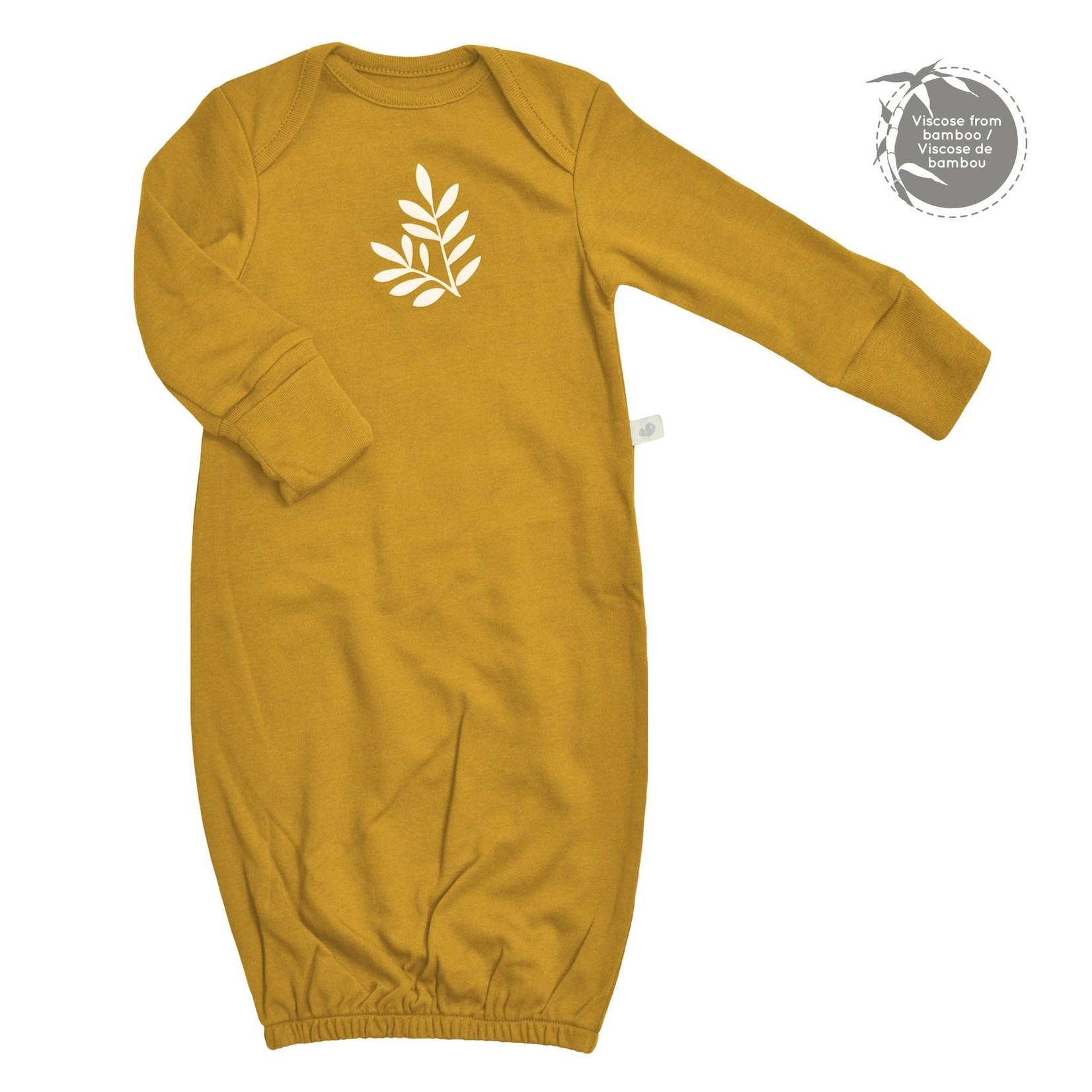 Bamboo Nightgown - Mustard Yellow - Newborn