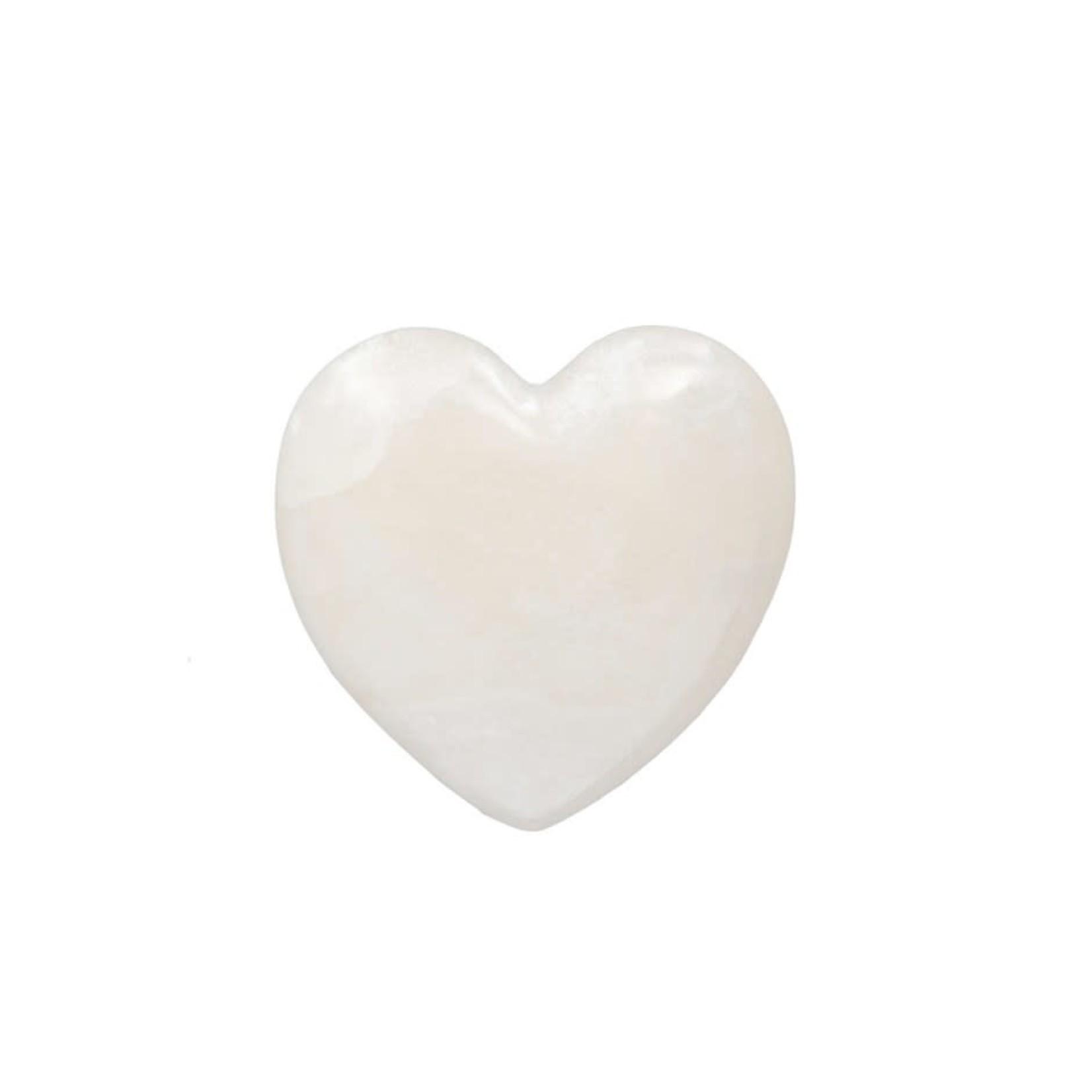 Alabaster Stone Heart