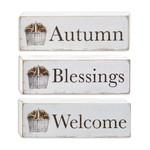 Autumn Blessings Block