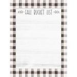 Fall Bucket List Mini Notepad