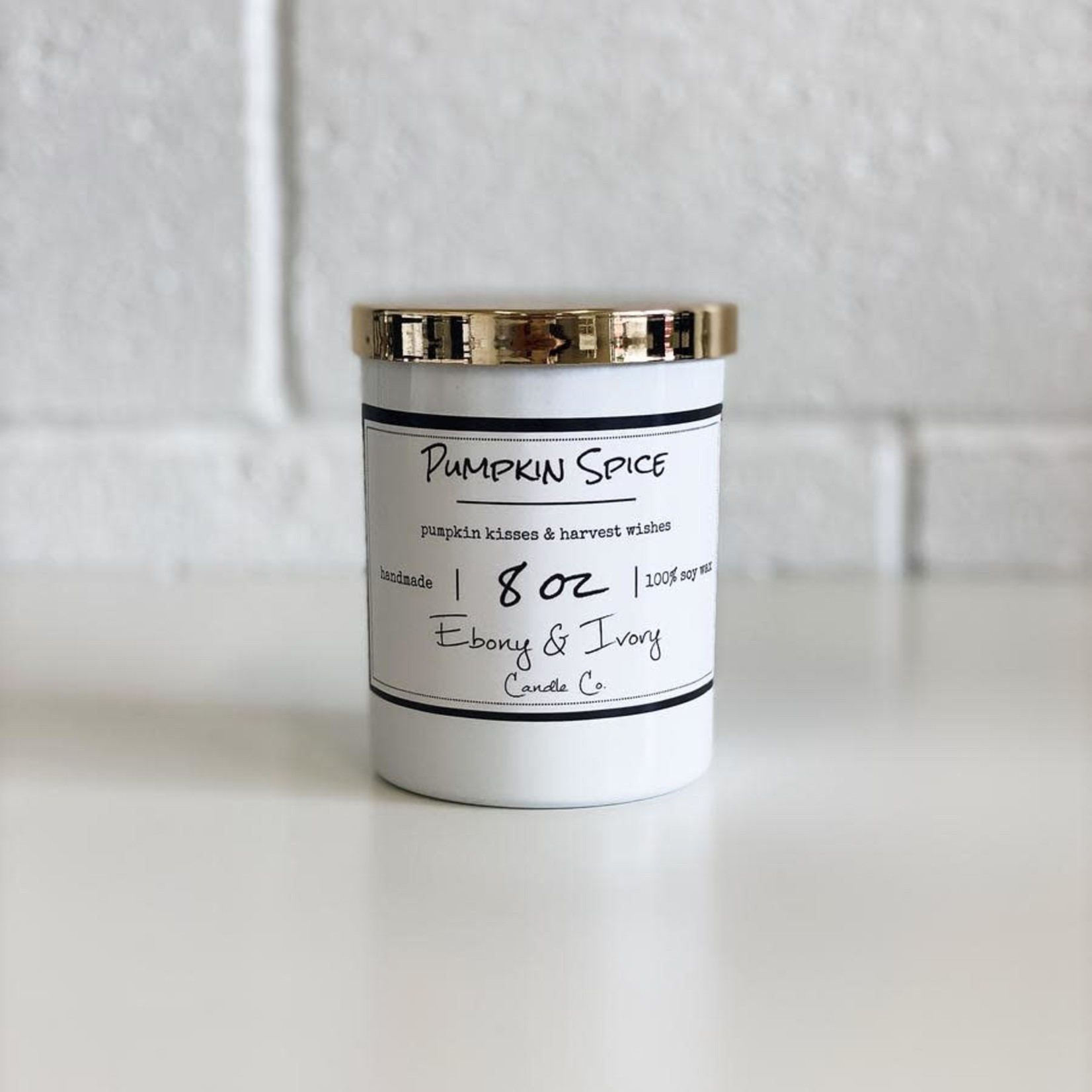 Ebony & Ivory Candle Co. - Pumpkin Spice