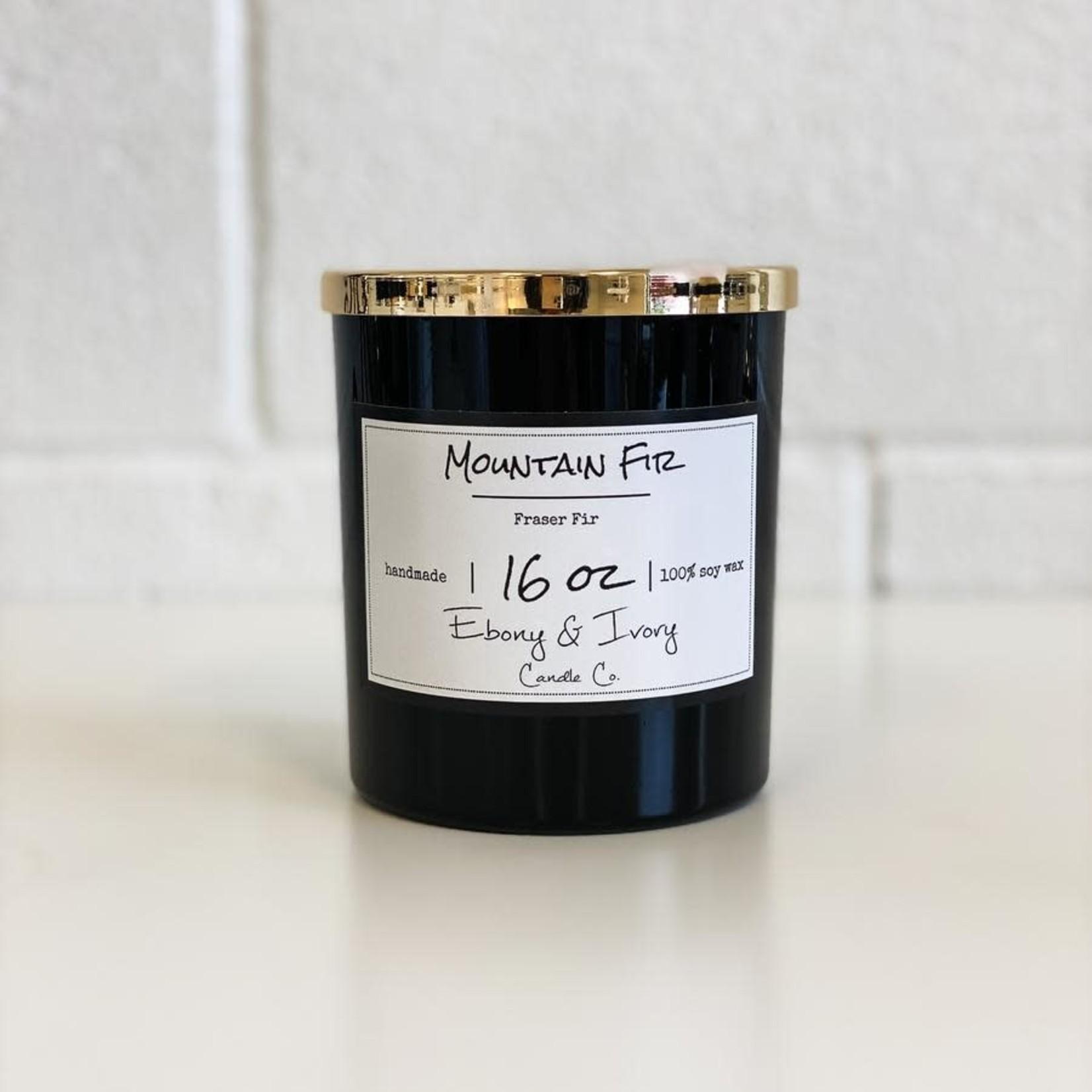 Ebony & Ivory Candle Co. - Mountain Fir