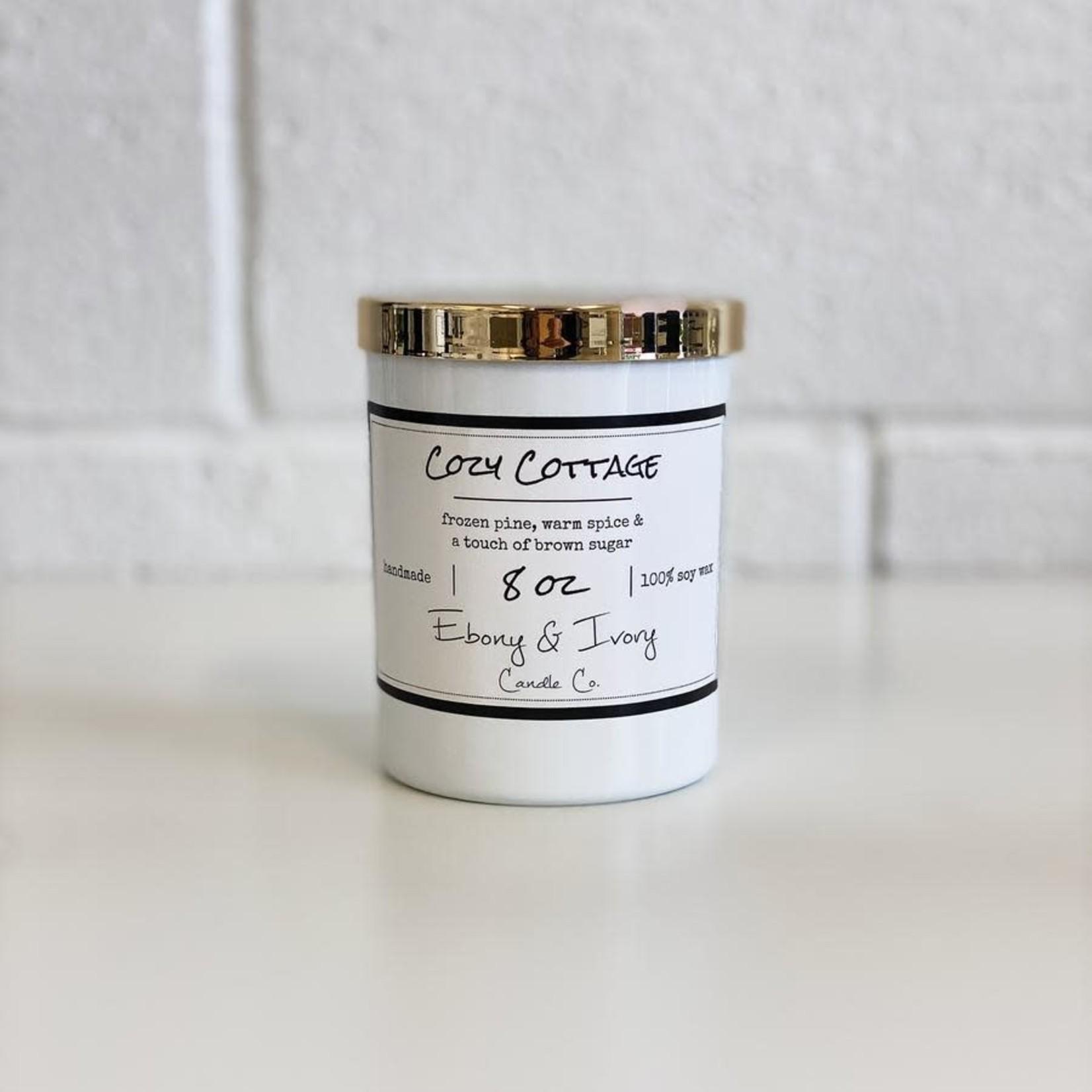 Ebony & Ivory Candle Co. - Cozy Cottage