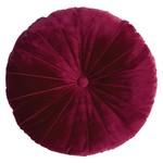 Mandarin Red Round Cushion