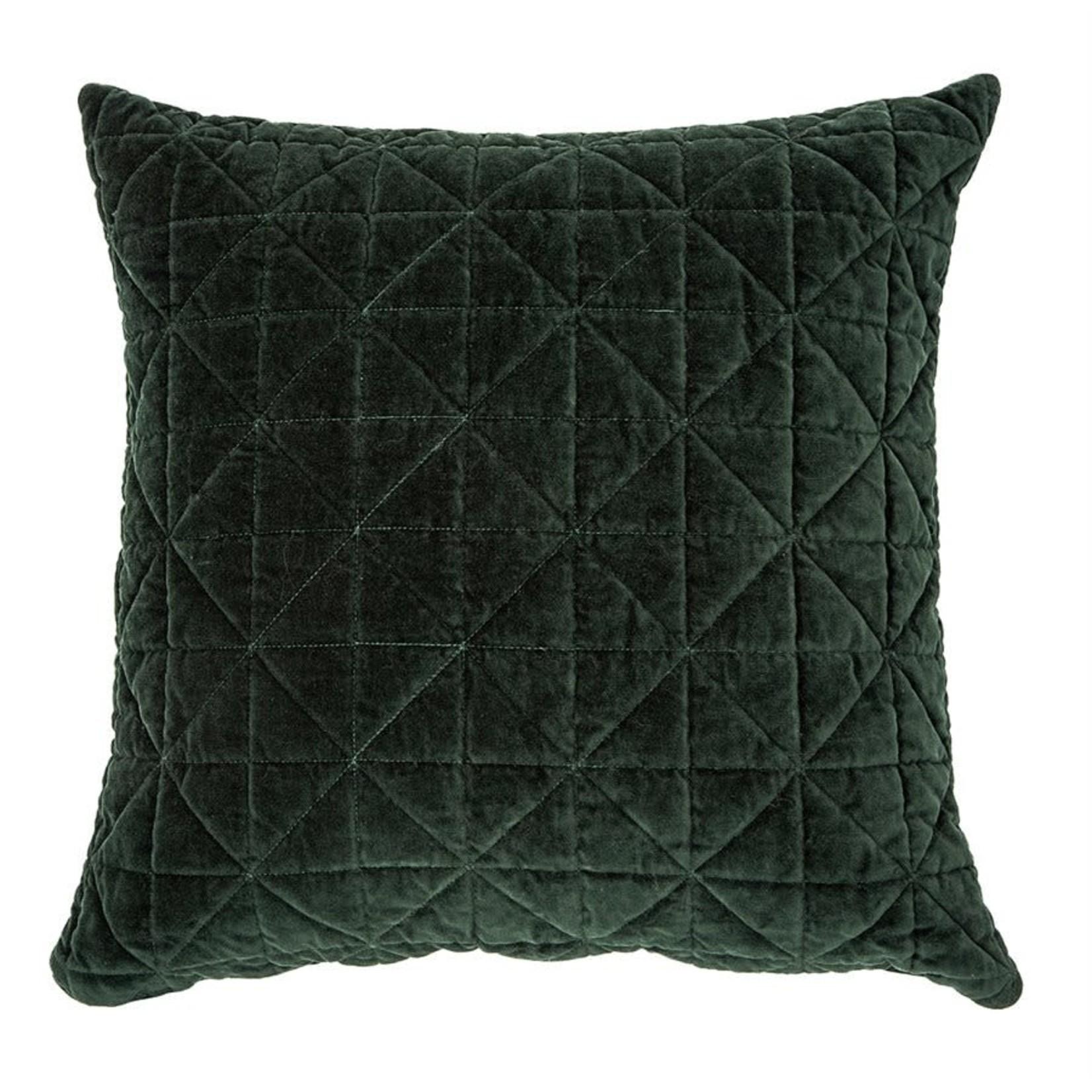 Velours Green Velvet Cushion