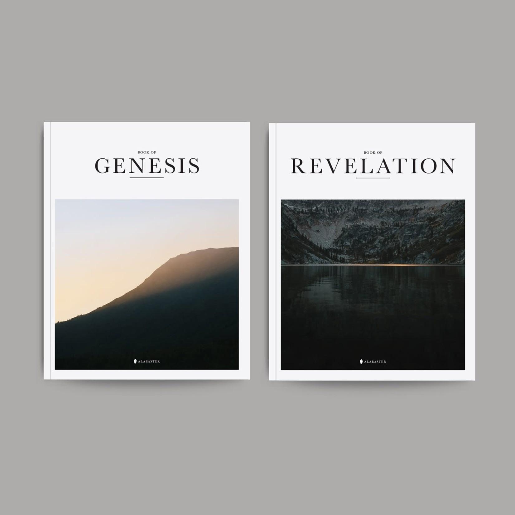 Alabaster Bible - Books Of Genesis & Revelation