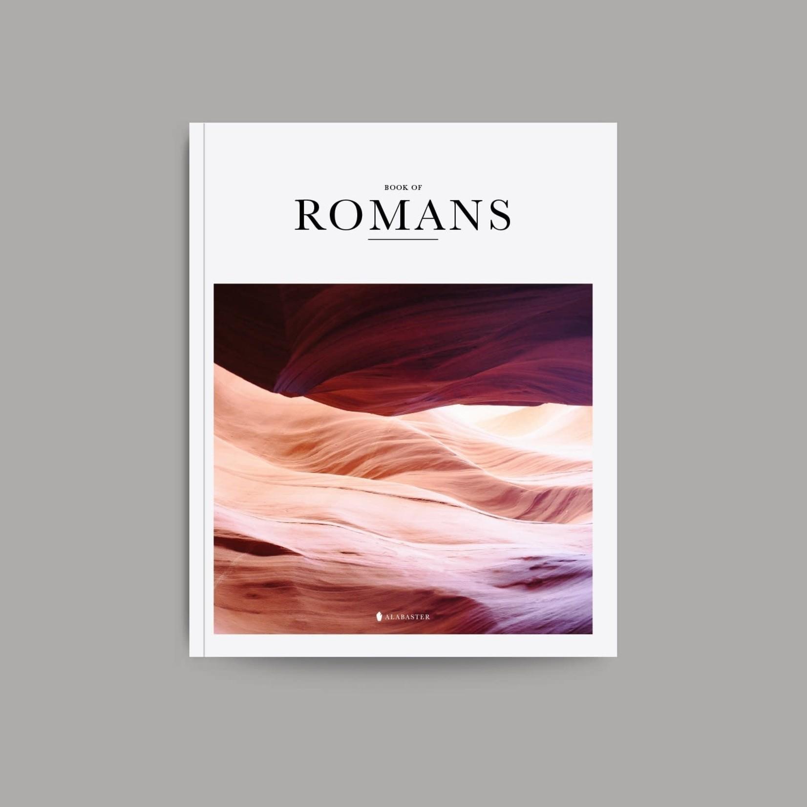 Alabaster Bible - Book Of Romans - NLT
