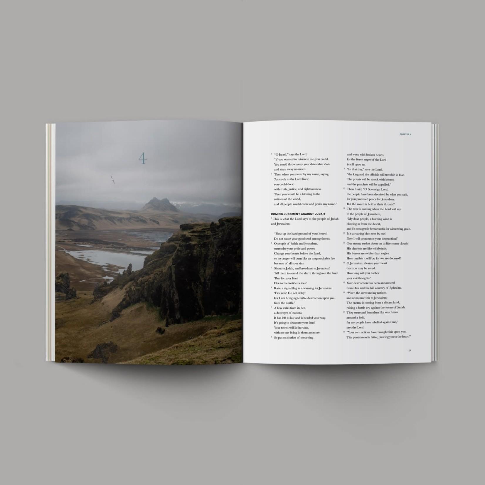 Alabaster Bible - Book Of Jeremiah - NLT